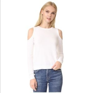 alice + olivia Wade Cold Shoulder Sweater (Medium)